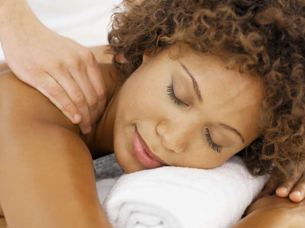 Women Getting Massage Therapy